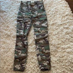 JCrew XS skinny cargo pants